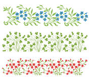 Vector ornamental floral element. Vintage style Stock Image