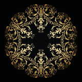 Vector ornamental floral ornament. Vintage style Stock Image