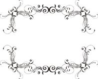 Vector ornamental frame Royalty Free Stock Image