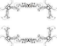 Vector ornamental frame Royalty Free Stock Image
