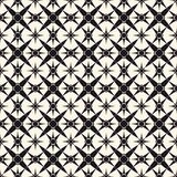 Vector ornamental geometric pattern with star shapes for decor, prints, textile, ceramic, carpet, fabric royalty free illustration