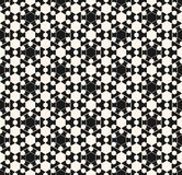 Vector ornamental geometric texture. Arabian pattern. Vector ornamental geometric texture. Abstract monochrome seamless pattern with delicate hexagonal grid Stock Images
