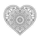 Vector ornamental Heart Stock Image