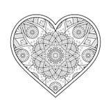 Vector ornamental Heart Royalty Free Stock Photo