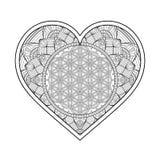 Vector ornamental Heart Stock Photos