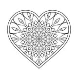 Vector ornamental Heart Royalty Free Stock Photography