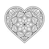 Vector ornamental Heart Stock Images