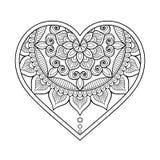 Vector ornamental Heart Royalty Free Stock Photos