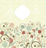 Vector ornamental invitation card Stock Photography
