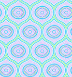 Vector ornamental pattern. Seamless pretty decorative pattern. very naive, bohemian style, oldies, retro revival Royalty Free Stock Photography