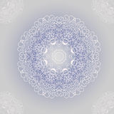 Vector ornamental round lace with damask and. Arabesque elements. Mehndi style. Orient traditional ornament Stock Photo