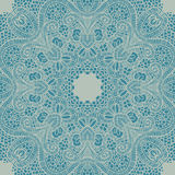 Vector ornamental round lace Stock Images