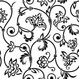 Vector ornamental seamless background. Stock Photos