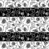 Vector ornamental seamless background. Royalty Free Stock Images