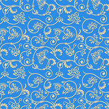 Vector ornamental seamless background. Stock Image