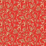 Vector ornamental seamless background. Royalty Free Stock Photos