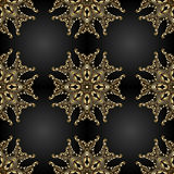 Vector ornamental seamless background. Stock Images