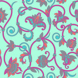 Vector ornamental seamless background. Royalty Free Stock Photo