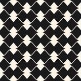 Vector ornamental seamless pattern. Elegant geometric background Royalty Free Stock Images