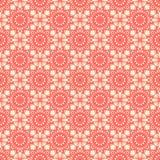 Vector ornamental seamless pattern, geometric figures, stars, rhombuses. Design for prints, decor, fabric, textile stock illustration