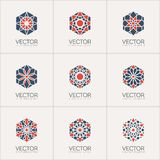 Vector ornamental symbols Royalty Free Stock Images