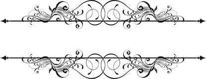 Vector Ornamental Title Royalty Free Stock Photo