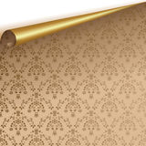 Vector ornamentblad Royalty-vrije Stock Afbeelding