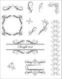 Vector ornamentpatroon Royalty-vrije Stock Afbeelding