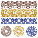 Vector ornaments for design. Illustration of set of vector ornaments for design Stock Photography