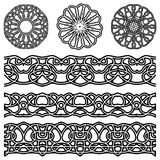 Vector ornaments for design Royalty Free Stock Image