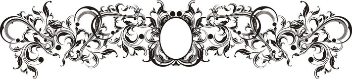 Vector ornaments frame Stock Photo