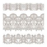 Vector ornaments. Vector set of borders, decorative elements for design, print, embroidery Stock Photo