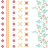 Vector ornaments set Royalty Free Stock Photos