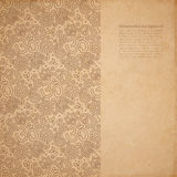 Vector ornate background Stock Images
