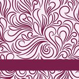 Vector ornate background. Invitation vintage card Royalty Free Stock Photo