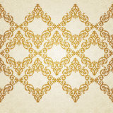 Vector ornate border in Victorian style. Royalty Free Stock Images