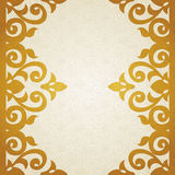 Vector ornate border in Victorian style. Stock Photo