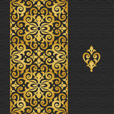 Vector ornate border in Victorian style. Stock Photography