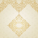 Vector ornate border in Victorian style. Royalty Free Stock Photos