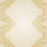 Vector ornate border in Victorian style. Stock Photos