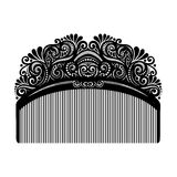 Vector Ornate Comb. Patterned Design vector illustration