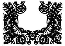 Vector Ornate Frame Royalty Free Stock Images