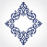 Vector ornate frame in Victorian style. Stock Photos