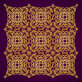 Vector ornate pattern in Victorian style. Stock Image
