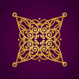 Vector ornate pattern in Victorian style. Stock Photos