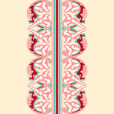 Vector ornate seamless border in Eastern style. Stock Photo
