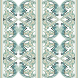 Vector ornate seamless floral pattern in Eastern style Stock Photos