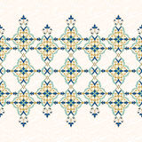 Vector ornate seamless frieze. Royalty Free Stock Image