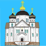 Vector Orthodox Church Stock Photography