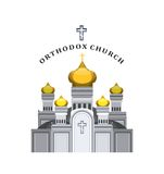 Vector Orthodox church Stock Images
